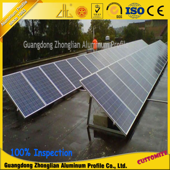 Aluminium Extrusion Profile for Solar Panel Manufacturers in China