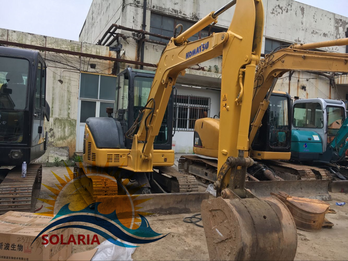Used Construction Machinery Hydraulic Ex...