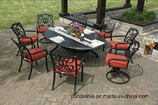 Fashionable Dining Set Aluminum Garden Furniture