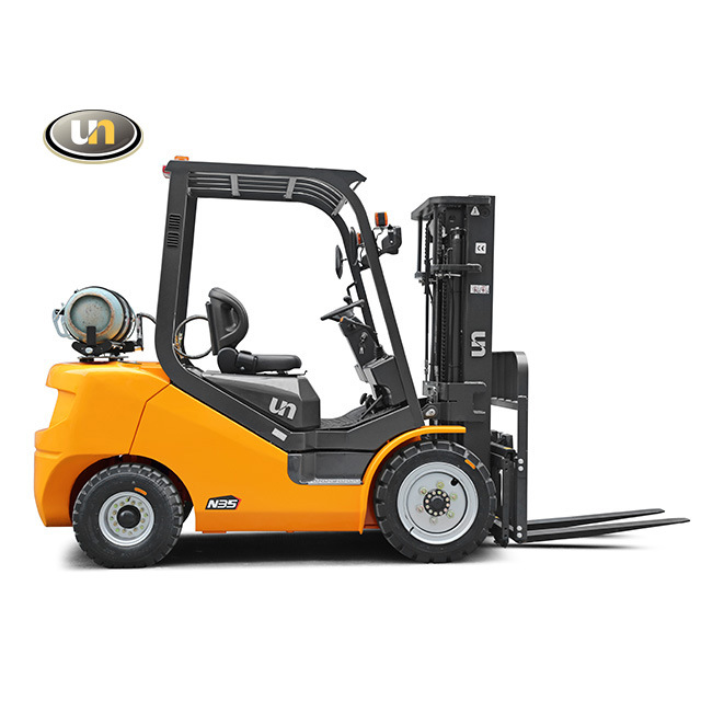 China Un 2.0t/2.5t Gaslline/ LPG Forklift with Container Mast ...