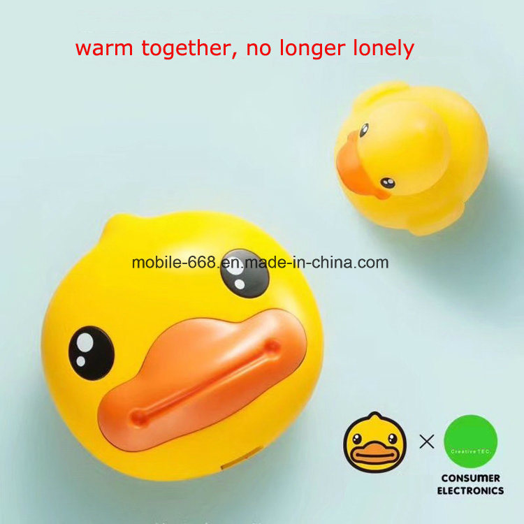 Duck Authentic Hand Warmers Charging Mobile Mini Portable Yellow Duck Cartoon Power Bank 6000mAh Christmas Cute Gifts