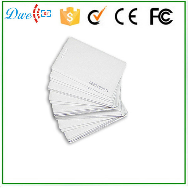 Hot Selling Rewritable PVC Clamshell 125kHz T5577 RFID Card