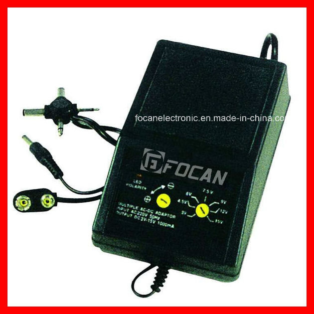 AC 110-220V to DC 1.5-12V (100-2000mA) Adjustable Voltage Power Supply