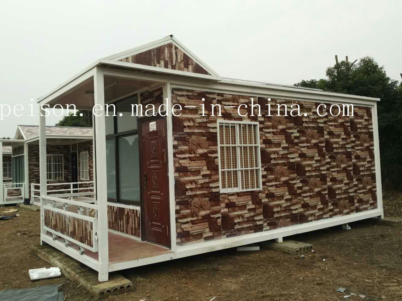 Folding Mobile Prefabricated/Prefab House for Tourist Attraction