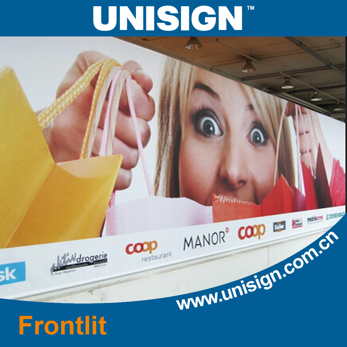Economic PVC Frontlit Flex Banner (LFG35/440)