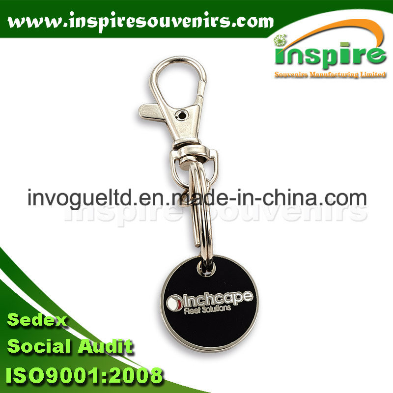 Customized Trolley Keyring for Promotion Gift