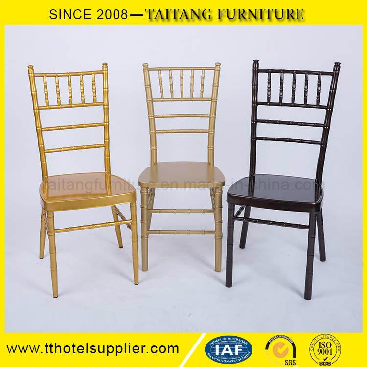 Stacking Banquet Furniture Wedding Iron Aluminum Chair