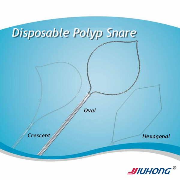 Disposable Polypectomy Snare for Polyp Retrieval