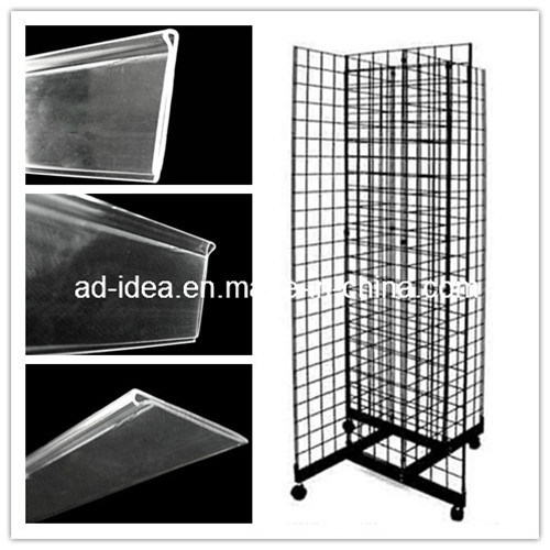 Promotion Display with Plastic Extrusion Process Extrusion