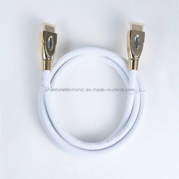 AV Data Communication HDMI Cable with Ethernet Ferrite (pH3-1036)