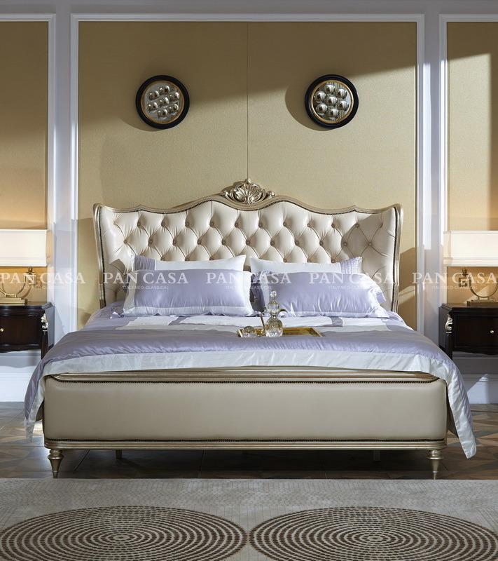 Classical Wooden Bedroom Furniture (MS-B6001b-2)