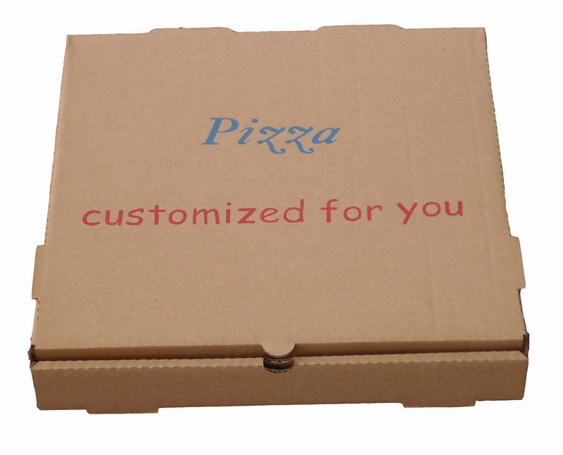 Hotsale Brown Color Pizza Packing Boxes with Custom Printing
