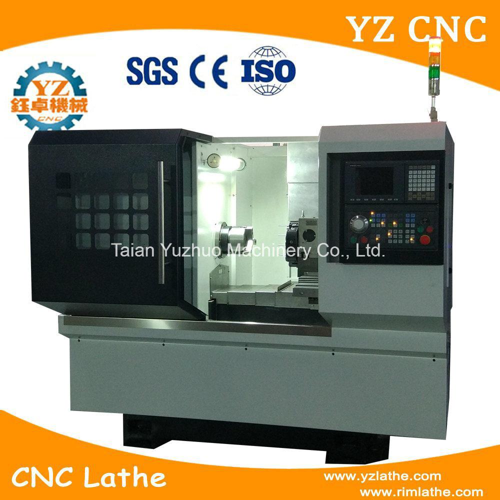 Tck32 CNC Lathe Machine with Drilling He...