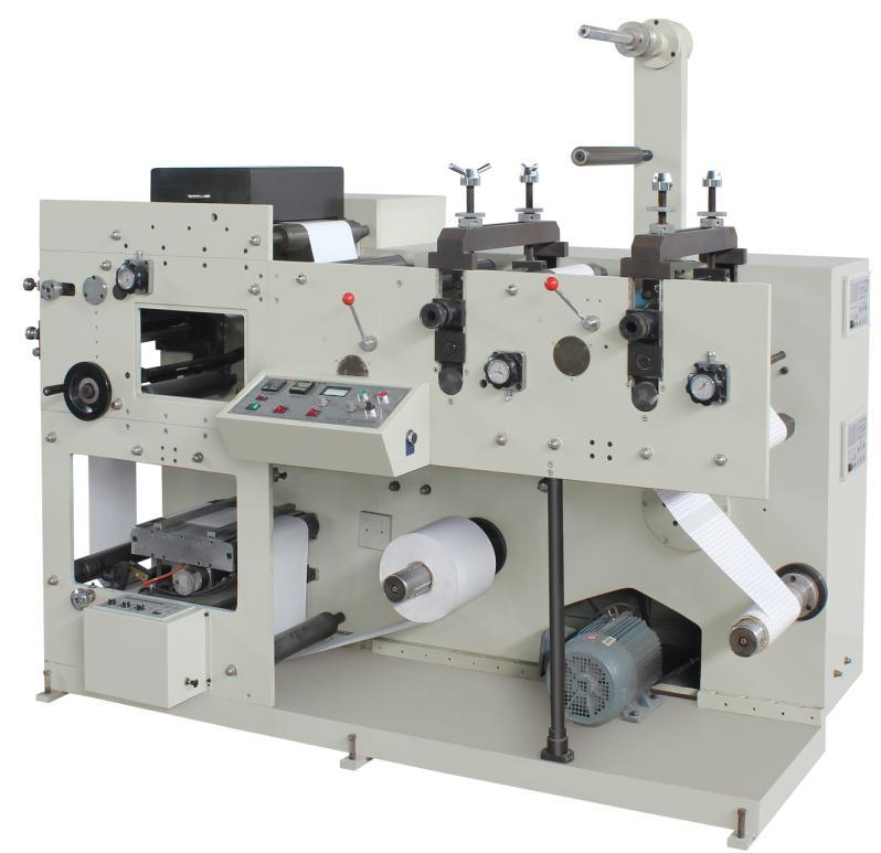 Flexo Printing Machine with Two Die Cutting Station