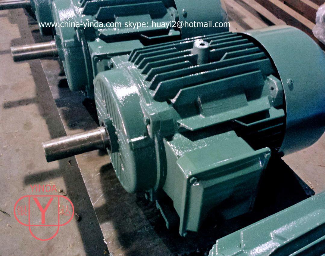 China 3 4 270hp three phase motor asynchronous motor for Three phase asynchronous motor