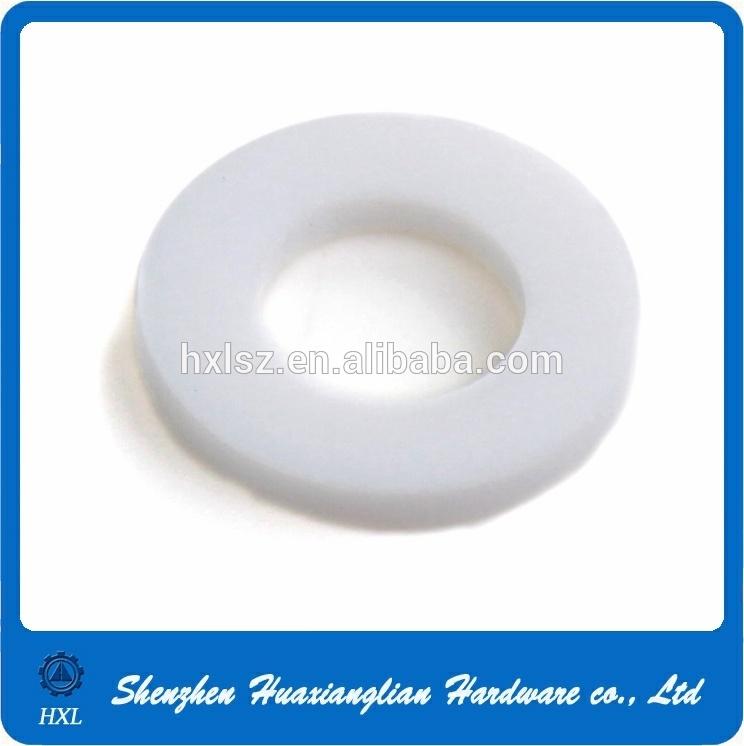 OEM White Black Flat Nylon Plastic Washers