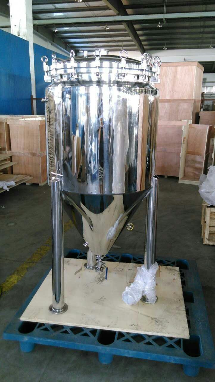 Big Conical Beer Fermentation Tank