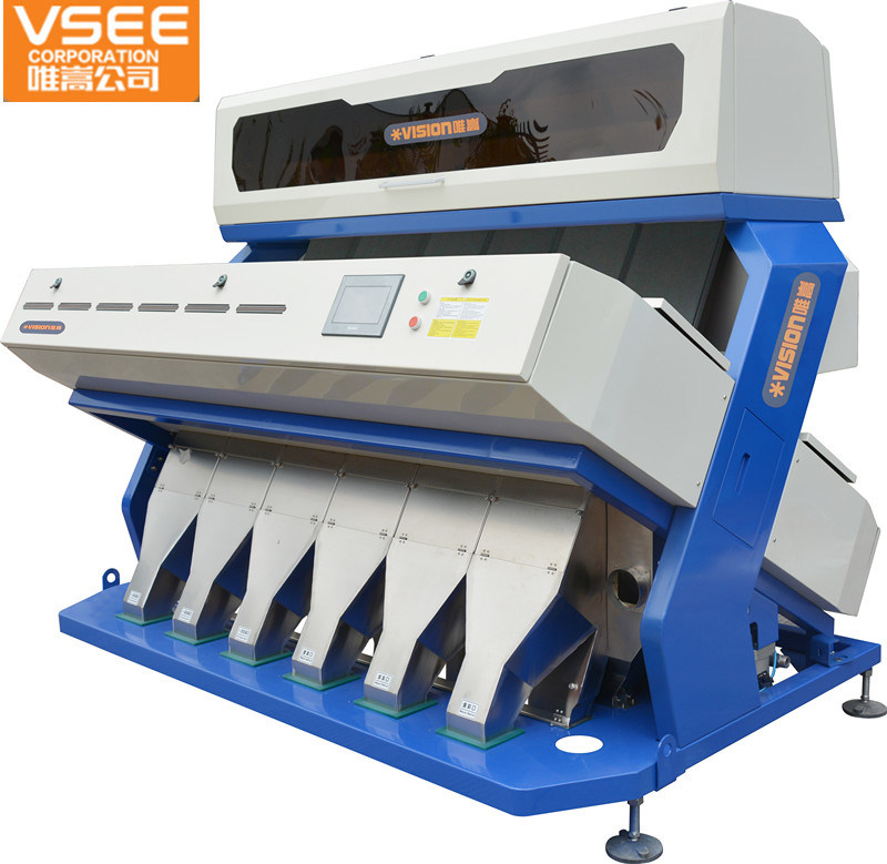 Grain Processing Equipment Agriculture Processing Machine Rice / Sorghum Color Sorter with LED Light
