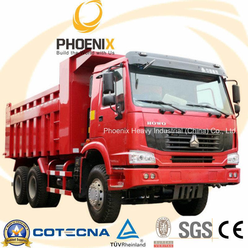 Low Price HOWO Dump Truck Tipper 6X4 10 Wheels
