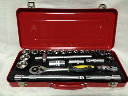 "Hand Tool-27PCS Socket Set (1/2"")"