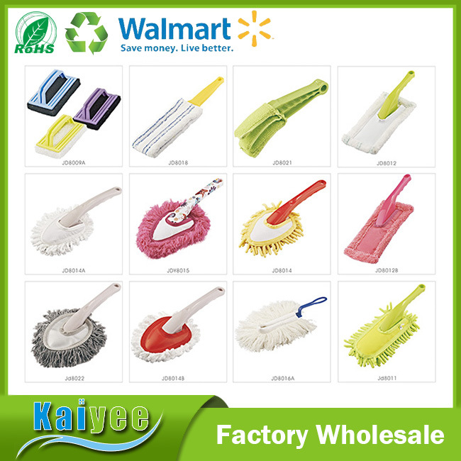 Fashion Durable Colorful Replaceable Short Handle Car Duster