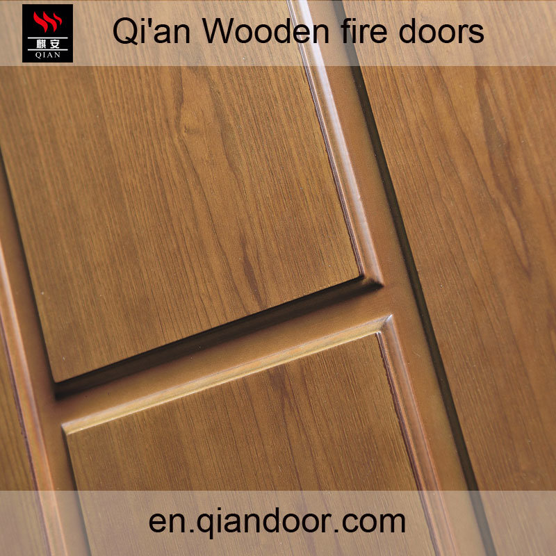 Fraxinus Mandshurica Fire-Rated Timber Door
