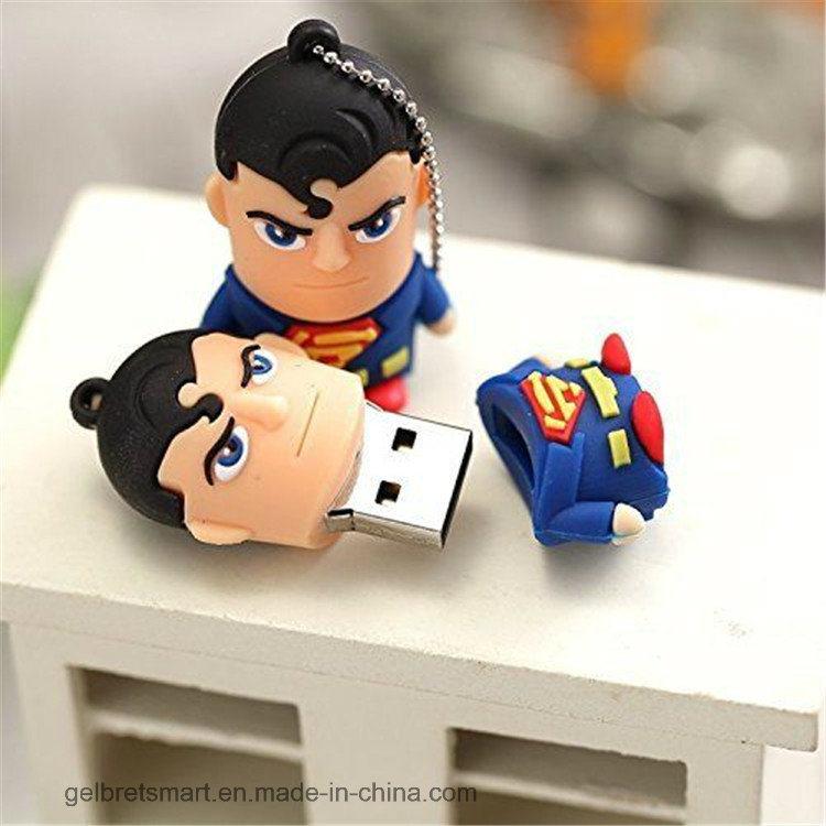 Cartoon America Super Hero USB Flash Driver for Promotion