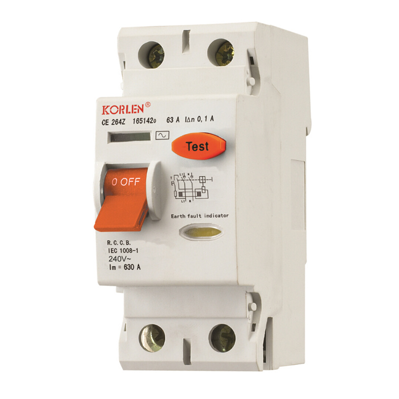 High Quality RCCB (KNL7-63) Residual Current Circuit Breaker