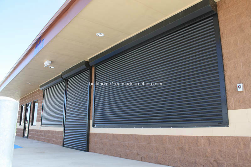 Outdoor Installed Aluminium Window Roller Shutter