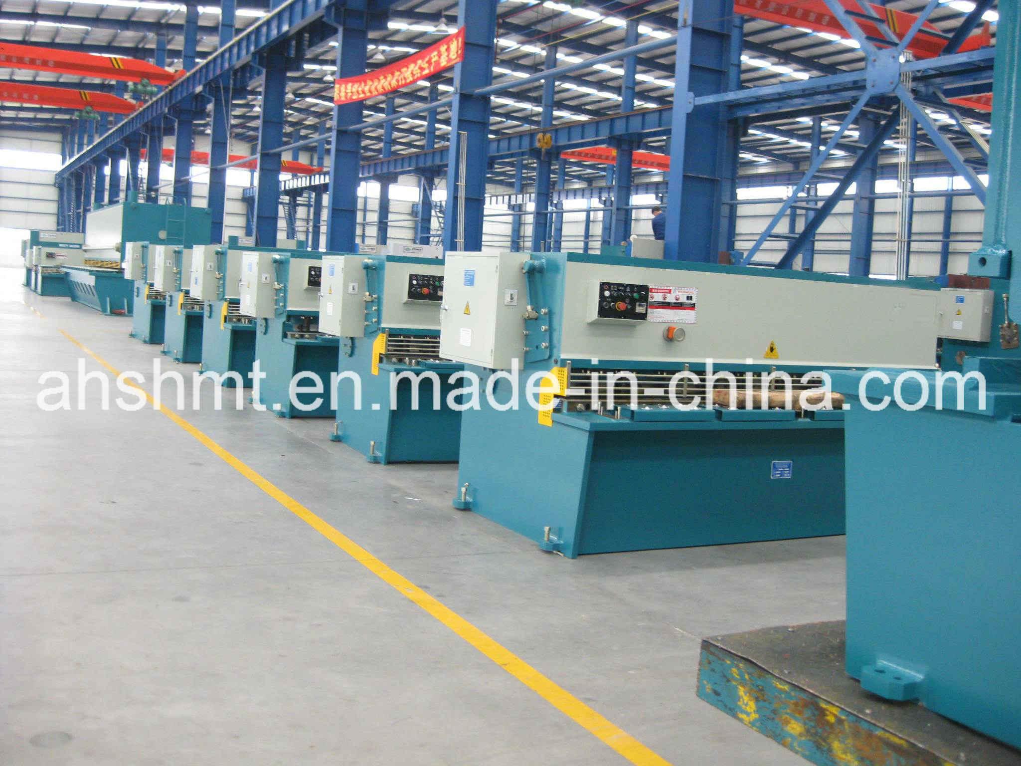 QC12y-10*3200mm Hydraulic Swing Beam Shearing Machine/Hydraulic Plate Cutting Machine/Shearing Machine