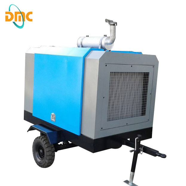 Diesel Driven Portable Screw Air Compressor