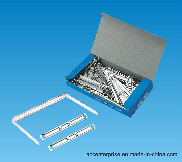 Metal File Fastener, Metal Paper Fastener, Metal Clip