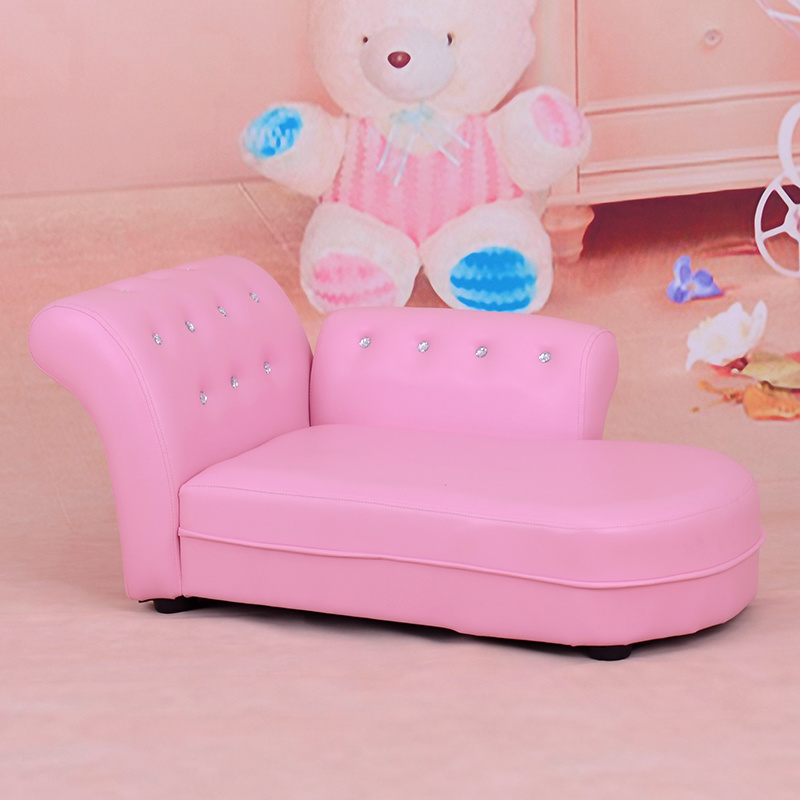Chaise Lounge PVC Leather Chair/ Children Furniture (SXBB-60)