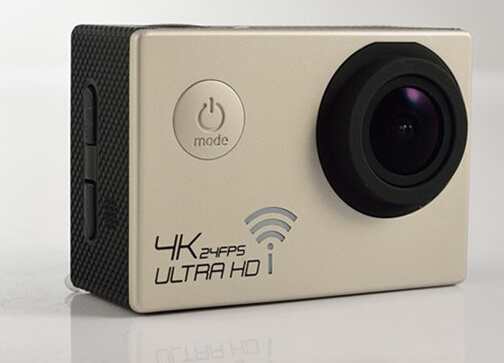 Real 4k Sports Camera with 120 Degree