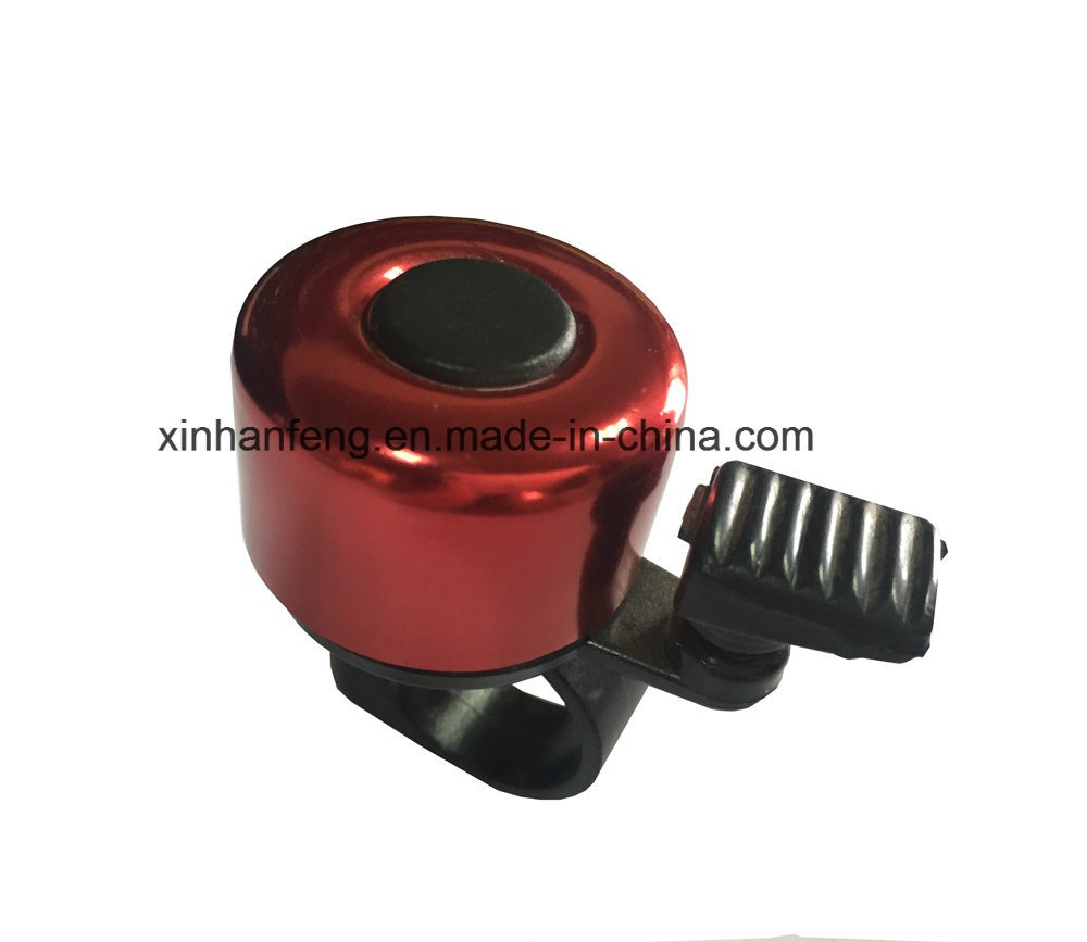 Alloy Top Plastic Base Bicycle Handlebar Bell (HEL-202)