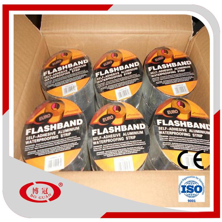 1.2mm Self Adhesive Bitumen Waterproof Selaing Tapes/Flashing Band