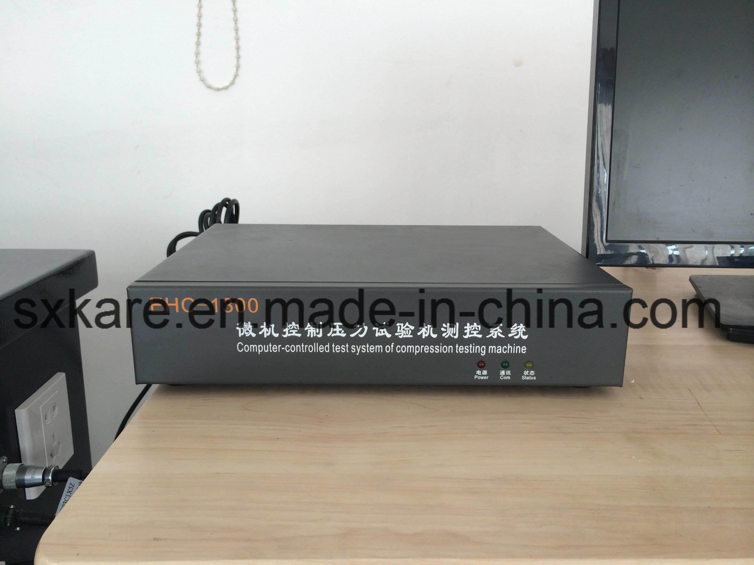 Electro-Hydraulic Servo Constant Loading Rate Compression Testing Machine (YAW-300)
