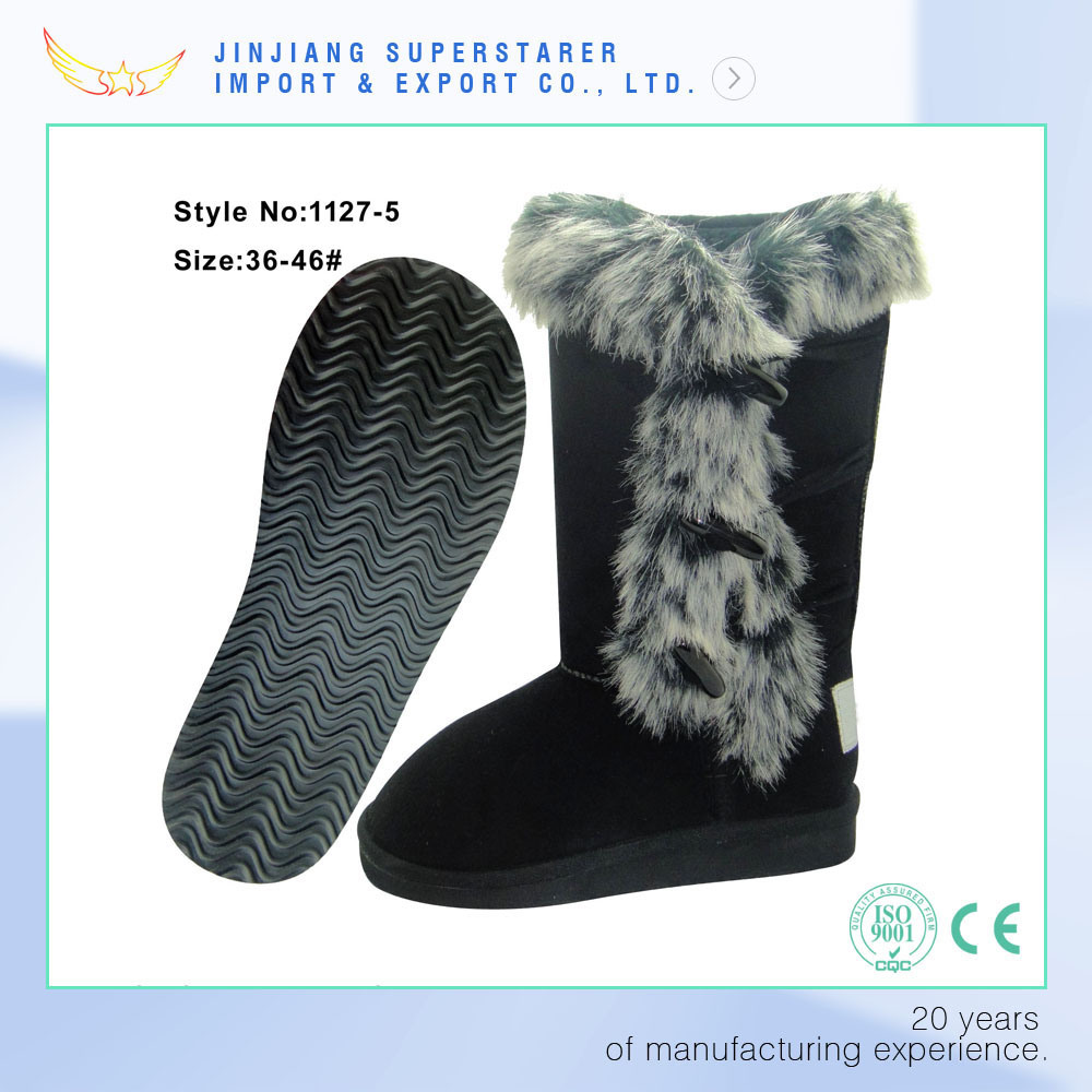 Adorable Women MID-Calf  Winter Boots Fully Lined with Faux Fur Inside