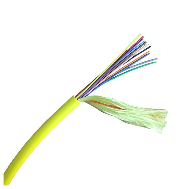 Indoor 24 Core Breakout Fiber Network Cable of Fiber Optic System
