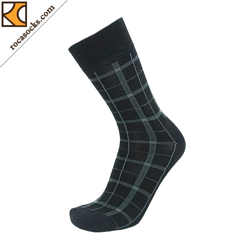 Men′s Merino Wool Dress Socks (163019SK)
