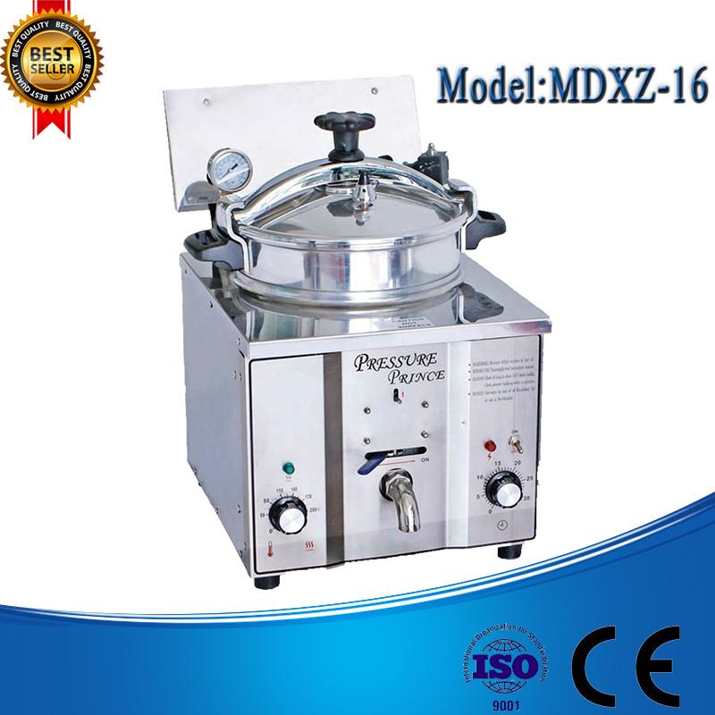 Mdxz-16 Electric Turkey Fryer, Commercial Chicken Pressure Fryer