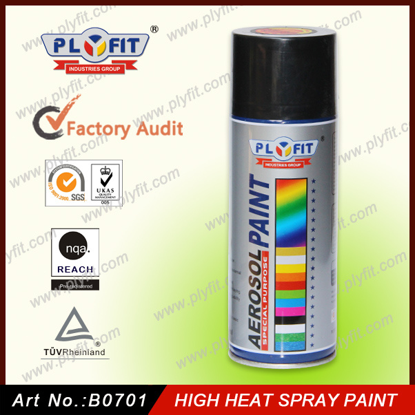 High Heat Resistant Spray Paint