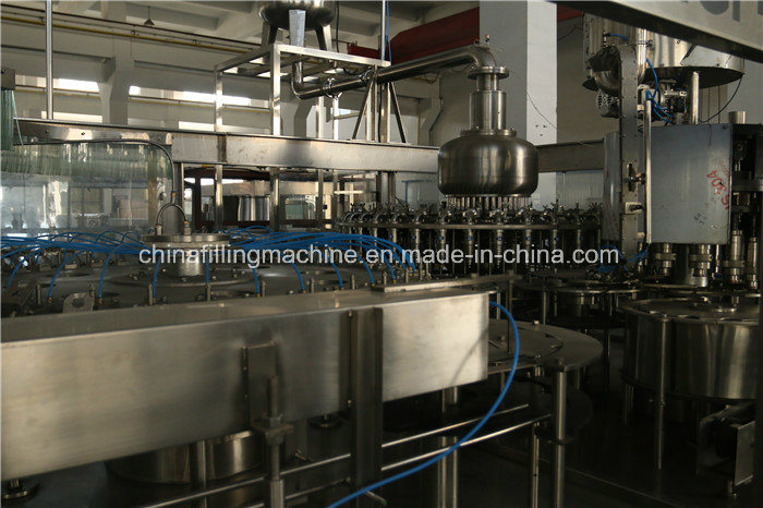 Automatic Juice Bottle Filling Equipment Line with PLC Control