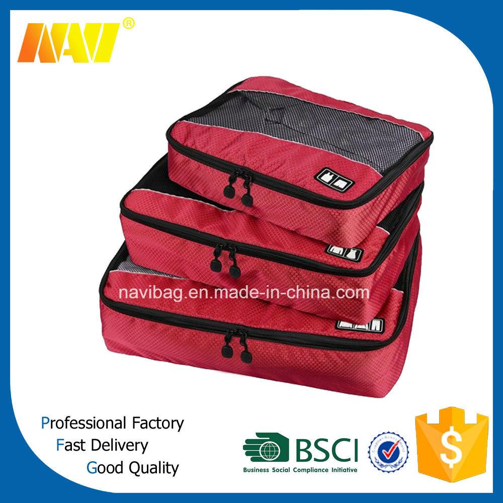 4PCS Value Set Nylon Waterproof Travel Organizer Packing Cubes