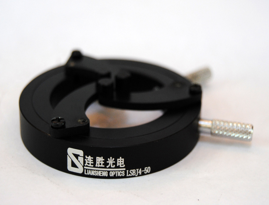 Self-Centering and Adjustable Precision Optical Lens Mounts Lsbj4 Series