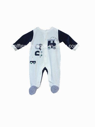 Polyester Velvet Romper for Infant