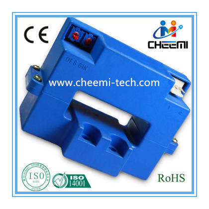 Hall Current Sensor/Transducer Open Loop Dual Power Supply