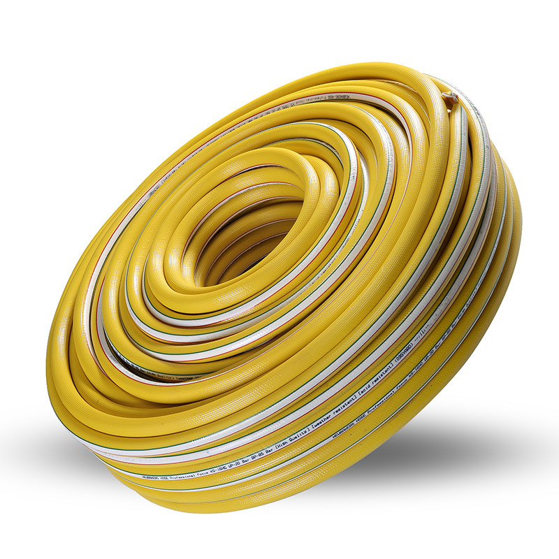 PVC High Pressure Air Hose KS-16HG Yellow