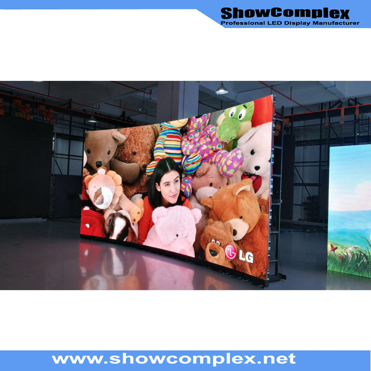 Hot Sale of Indoor Full Color LED Display Screen for Model Show (P3)