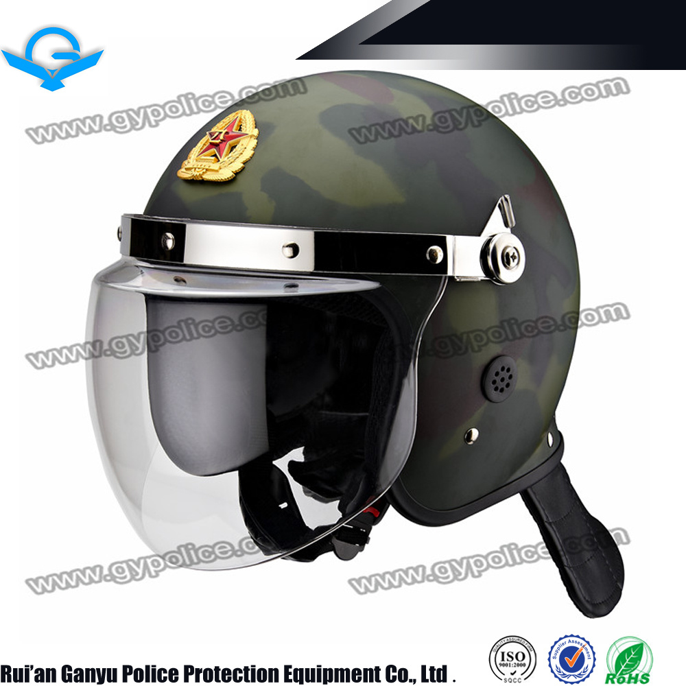 China Camouflage Style Anti Riot Helmet Manufacturer/Riot Control Helmet